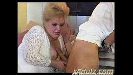 Chubby BBW Granny Fucks...
