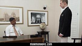 MormonBoyz-Silver daddy takes...