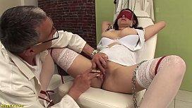 Busty nurse bizarre fetish...