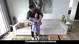 ExxxtraSmall - Package Guys Gets To Fucks Petite Jasmine Grey