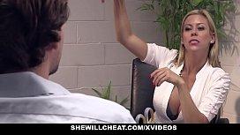 SheWillCheat - Busty MILF Boss...