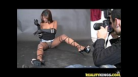 Jeana gets her ebony...