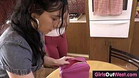Lesbian rimming and licking...