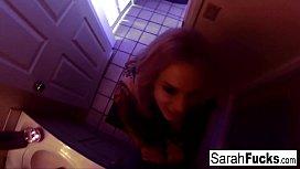 Pornstar Sarah Jessie gives...