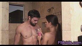 Amazing shower with Kortney...