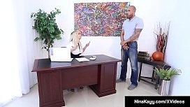Big Butt Boss Nina...