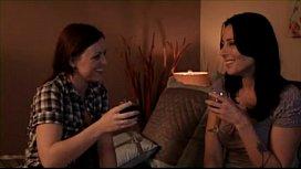 Mature Lesbian Seducing Young...