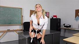 Naughty school girl solo...