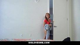 Sislovesme- Tiny Stepsister Fucked...