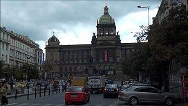 Wenceslas Square Prague Czech Republic