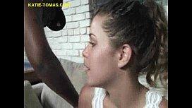 Katie Enjoys her Interracial...