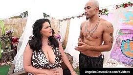 Cuban Dicktaster Angelina Castro...