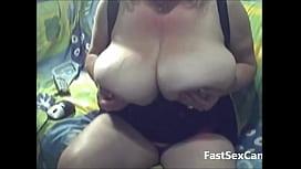 Blonde Granny Big Boobs...