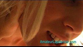 Lapdace and blow job by 20yo czech amateur Sandra jasmin18v