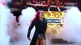 Becky Lynch vs Emma. Raw.