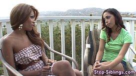 Ebony les stepsis tastes...