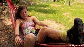 Outdoor teen video...