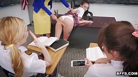 BFFs after school detention...