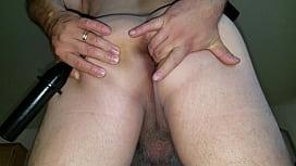 Anal Masturbation Cumming Hard