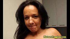 Bigtit stepmom wanking dick...