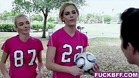 Soccer coed teens picked...