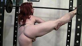 Naked Female Bodybuilder Loves...