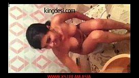 Indian girl take bath...