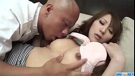 Anna Mizukawa sure loves...