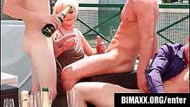 Bimaxx - glamour bisexual orgy...