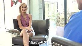 NannySpy Thief nanny fucked...