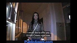 PublicAgent Vivian gets fucked...