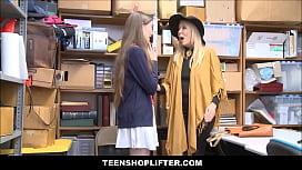 Teen Granddaughter Shoplifter And...