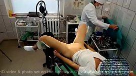 Orgasm on the gynecological...