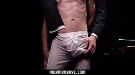 MormonBoyz - Teen Gets Barebacked...