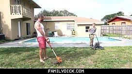 FamilyDick - Sexy stepson tempts...