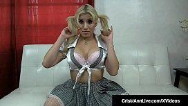 Latina Student Cristi Ann...