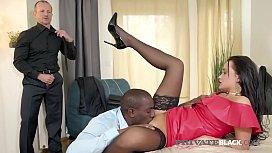 PrivateBlack - Hot Daphne Klyde Butt Fucked By BBC Husband