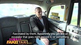 Female Fake Taxi Ozzie...