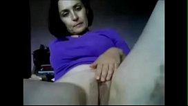 Mature Amateur MILF Masturbating on Homemade Webcam - MILFWebcamShow