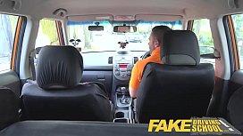Fake Driving School Busty...