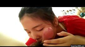 Busty Asian Girlfriend Treats...