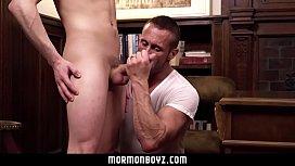 MormonBoyz - Sexy daddy gets...