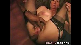 Interracial Granny Anal anri okita anal
