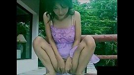 Asian models pee...