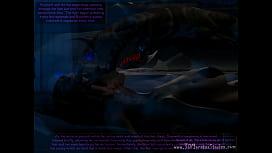Alien creature invades Gwyneth...