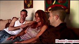 Donny Long splits huge...