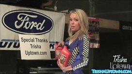 Trisha Uptown Gets Dirty...