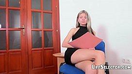 Gina Gerson - Petite blonde...