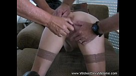 Amateur Threesome Fuck for...
