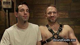 Tied up gay had...